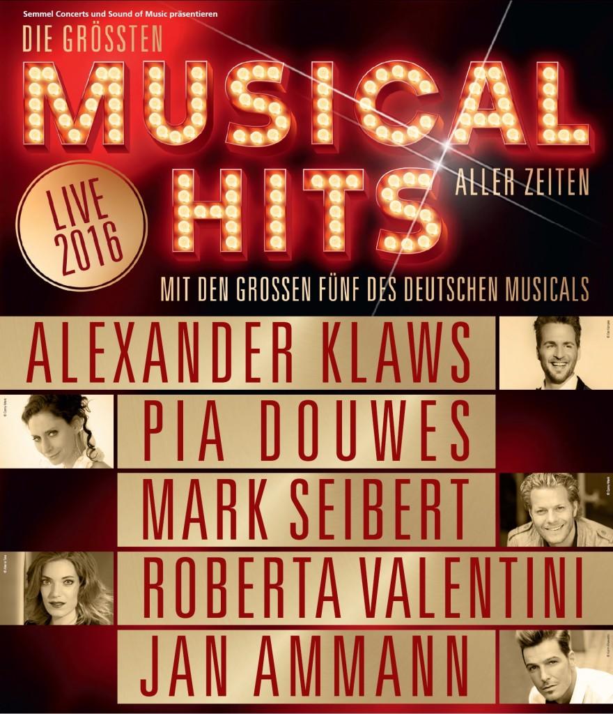Poster Die größten Musical Hits aller Zeiten